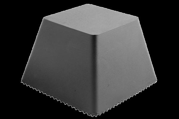 Gummi-Trapezblock mit Noppen, Autop und Becker