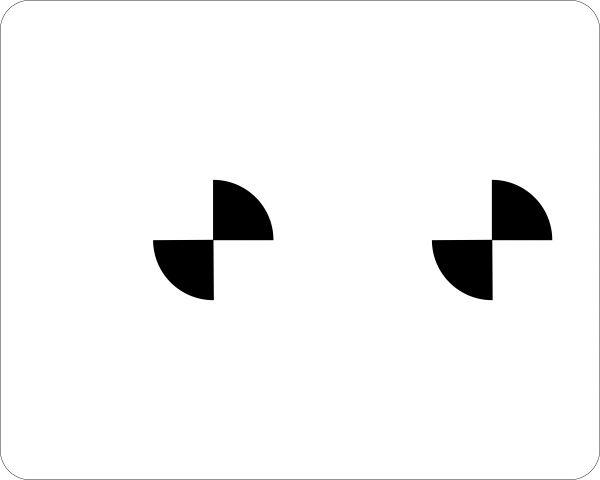 Kalibriertafel für Frontkamera für RENAULT/SMART