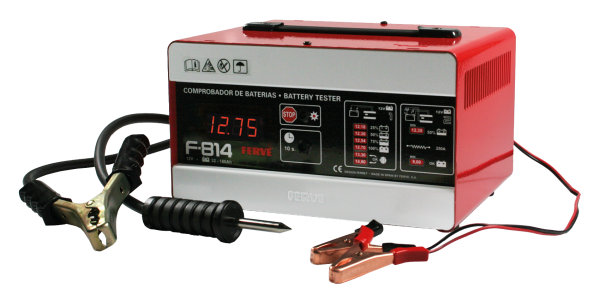 Digitaler Batterietester F-814