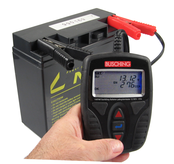 Kfz-Batterie- und Ladesystemtester-Vorführgerät