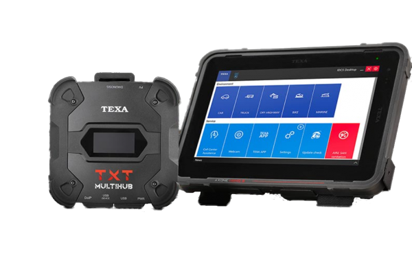 Texa Axone Nemo 2 Lkw mit TXT MULTIHUB