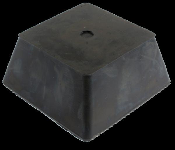 Gummi-Trapezblock mit Noppen, universal