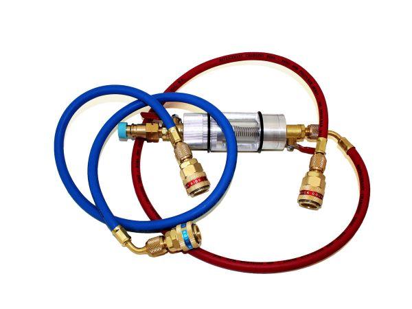 Vorfilter, Diagnoseglas & Schauglas R134a