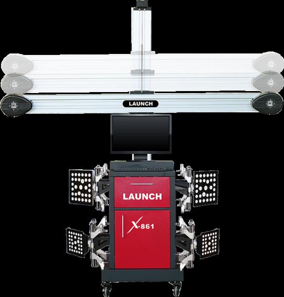 Launch X861 mit Kamerakreuz